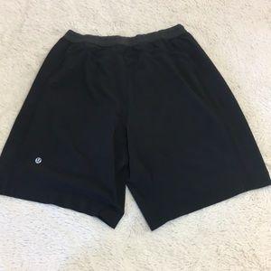 Lululemon Black Pacemaker Shorts